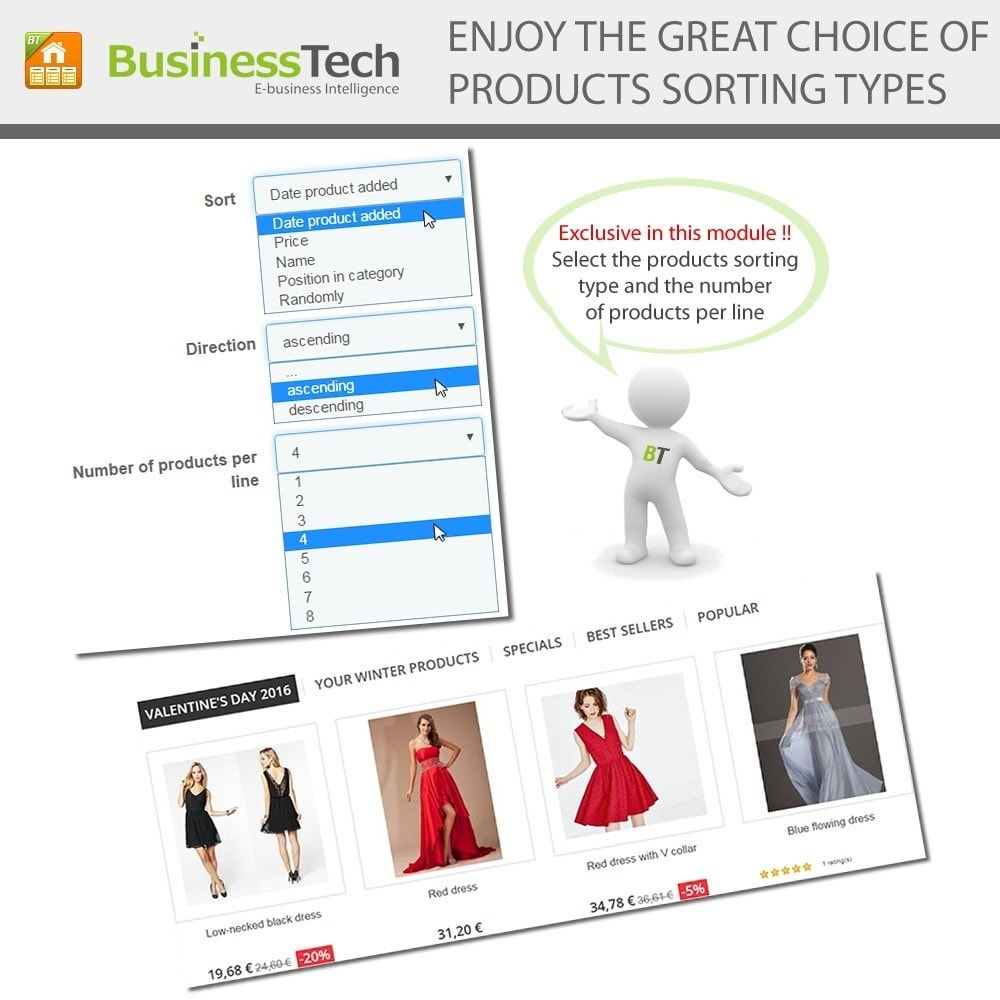 module - Products on Homepage - Advanced Featured Products - 6
