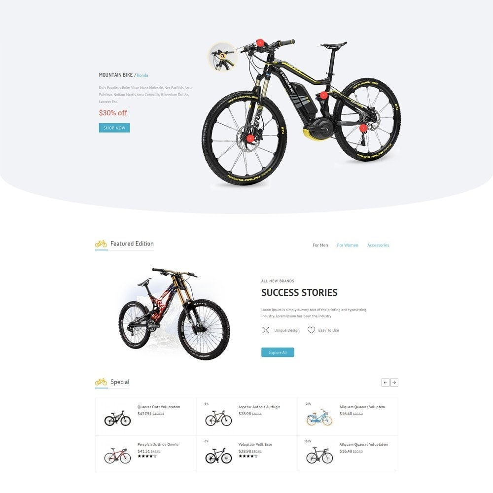 theme - Sports, Activities & Travel - Sport Bicycle Store - 3