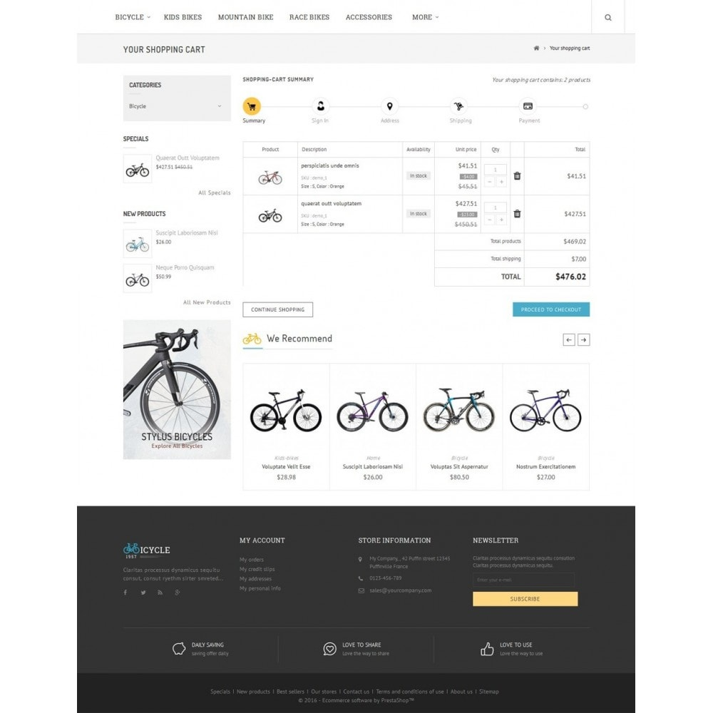 theme - Sports, Activities & Travel - Sport Bicycle Store - 6