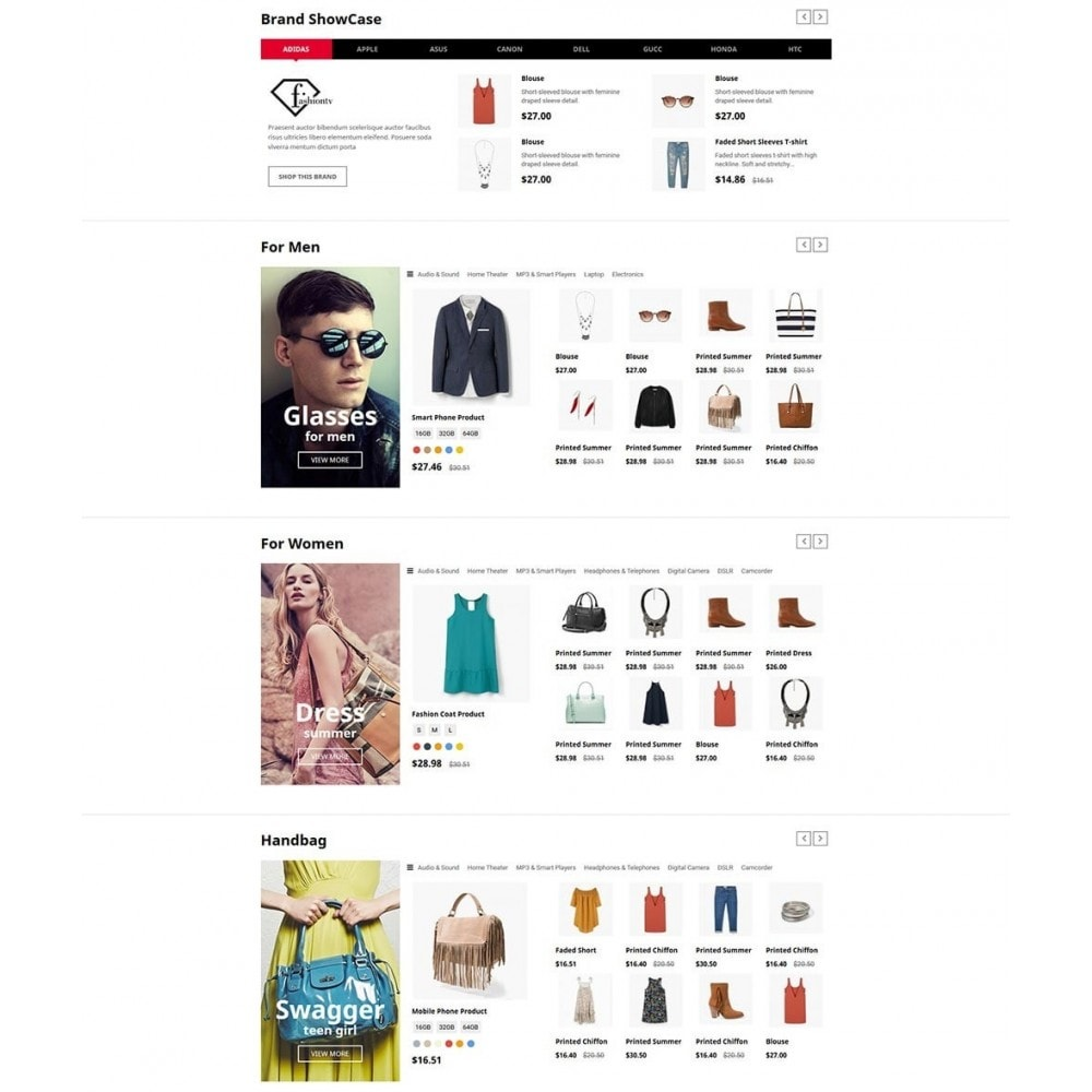 theme - Moda & Obuwie - FashStore - Suppermarket - 3