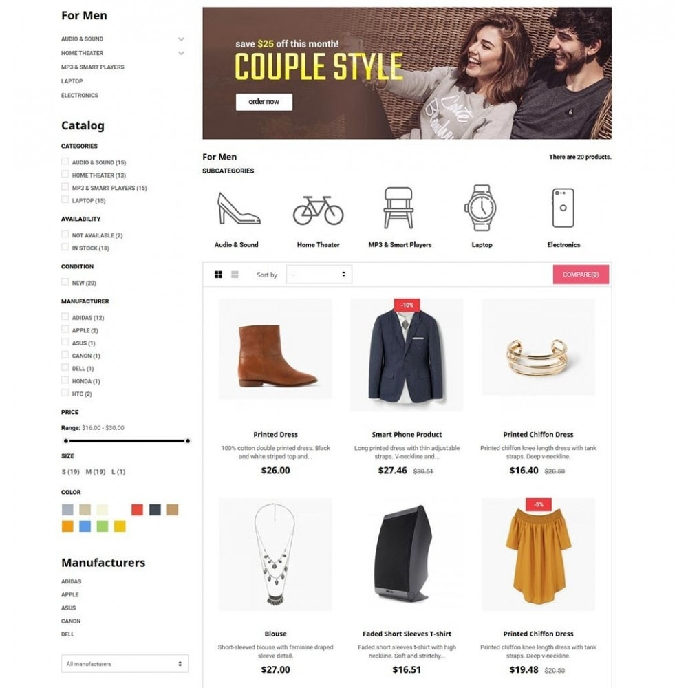 theme - Moda & Obuwie - FashStore - Suppermarket - 5