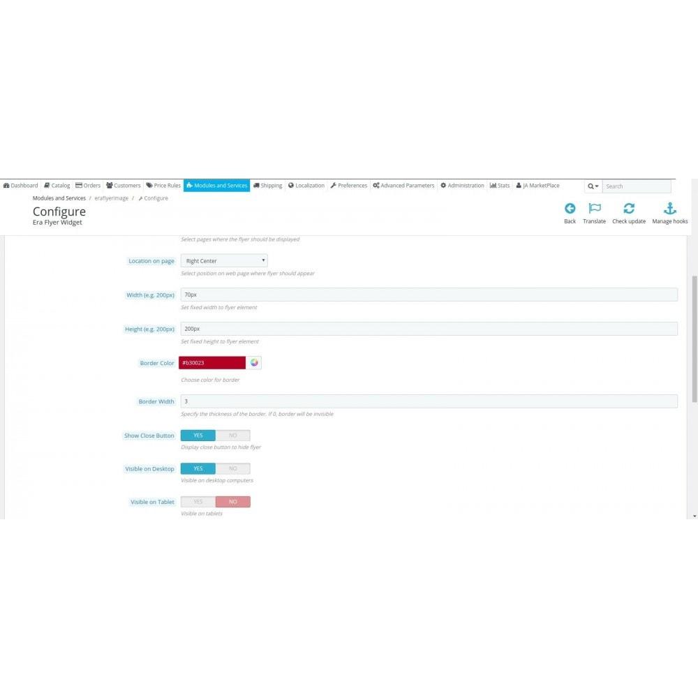 module - Individuelle Seitengestaltung - Era Flyer Widget - 3