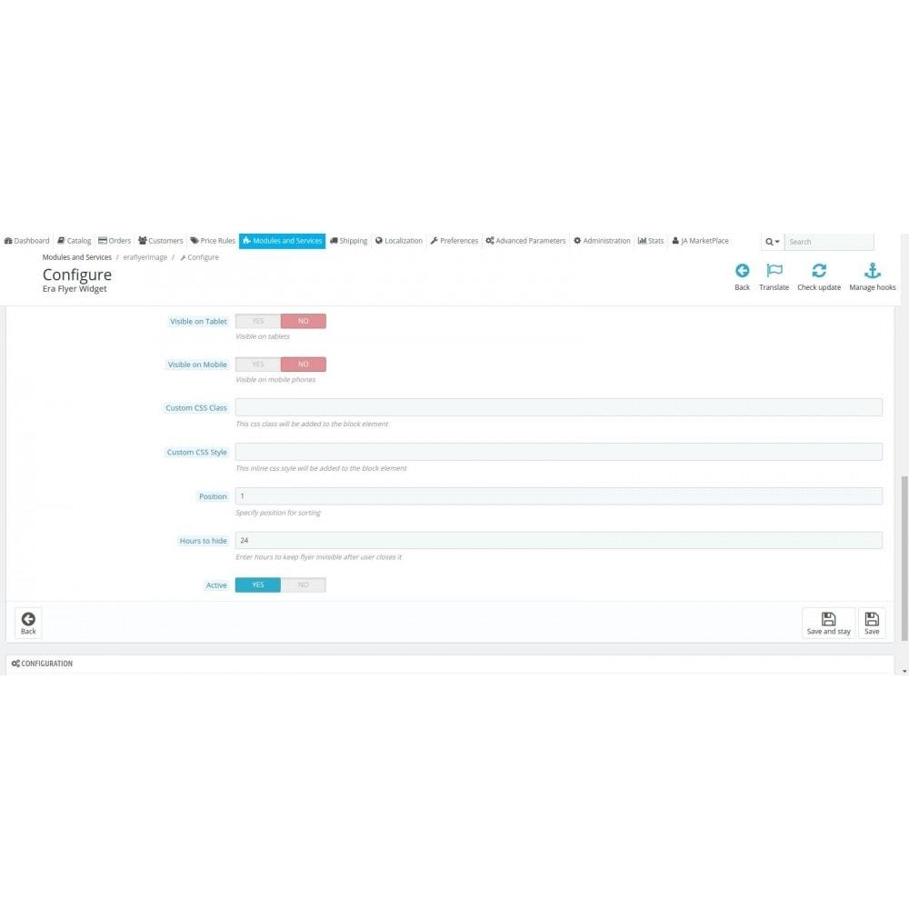 module - Individuelle Seitengestaltung - Era Flyer Widget - 4