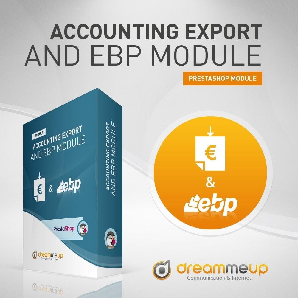 module - Integracja z programami stron trzecich (CRM, ERP...) - DMU Export Accounting CSV or EBP - 1