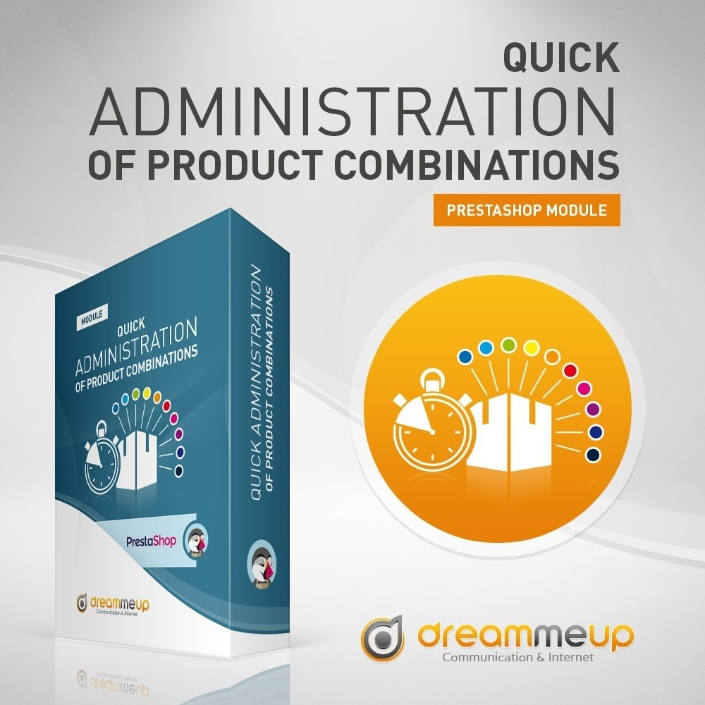 module - Administrative Tools - DMU Quick administration of Product combinations - 2