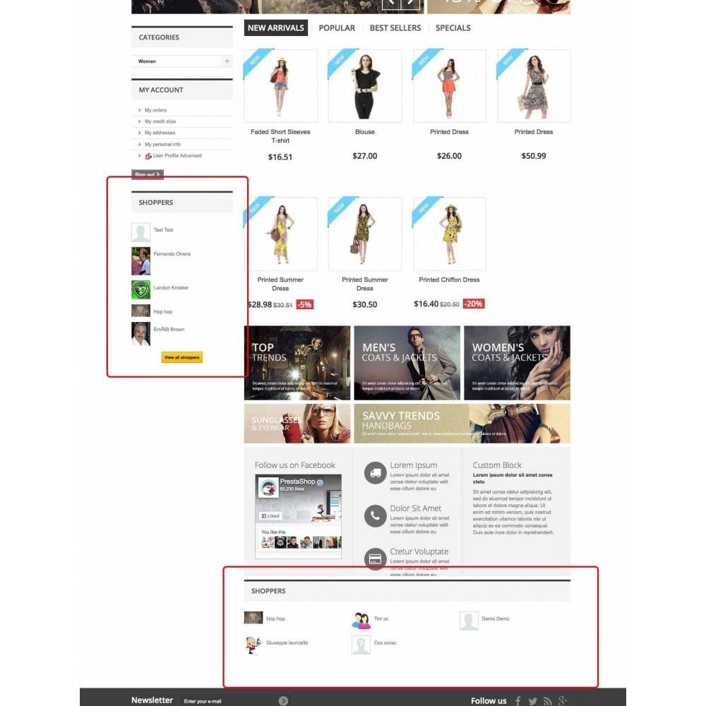 module - Customer Administration - User Profile Advanced - 6