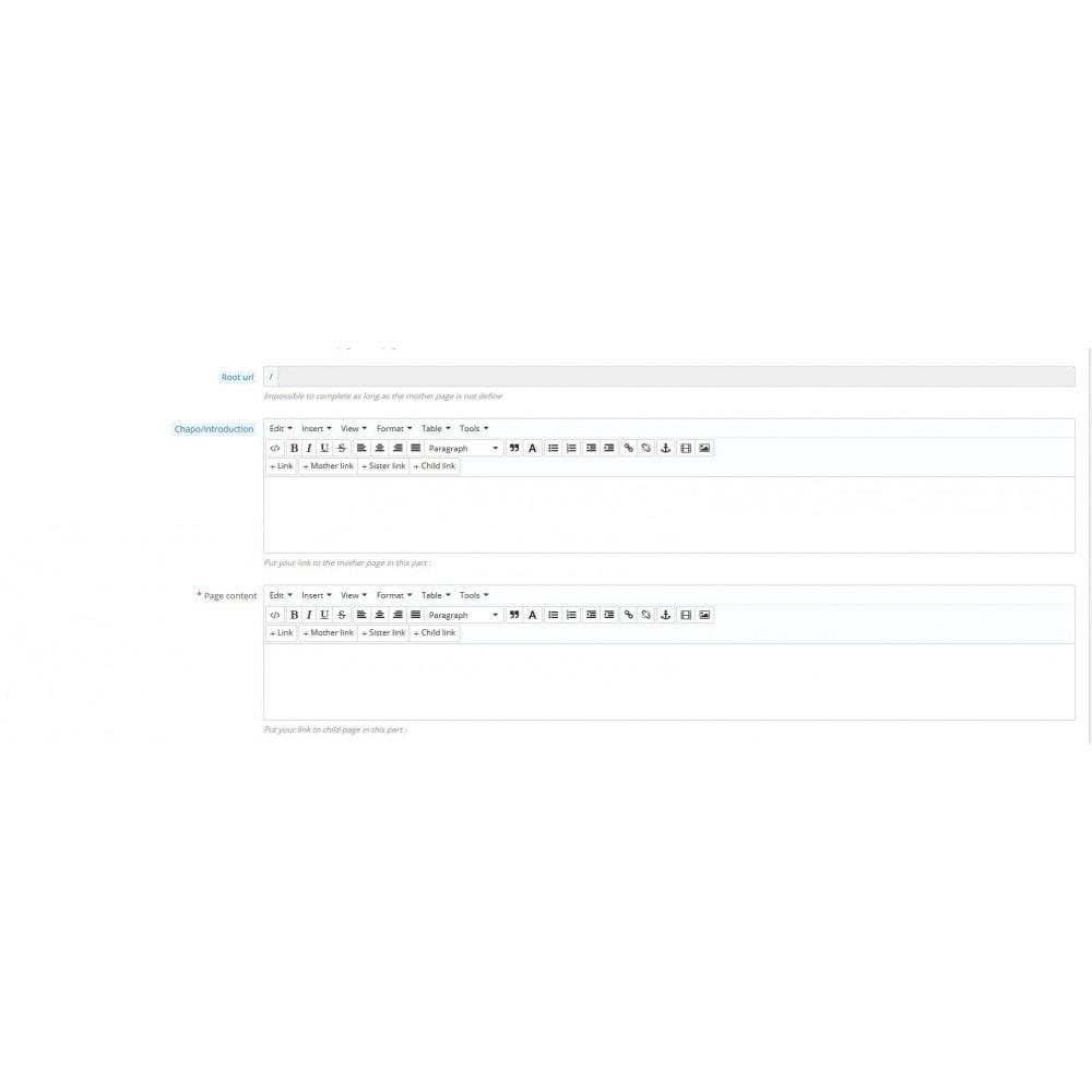 module - SEO (Pozycjonowanie naturalne) - Semantic Cocoon - 5