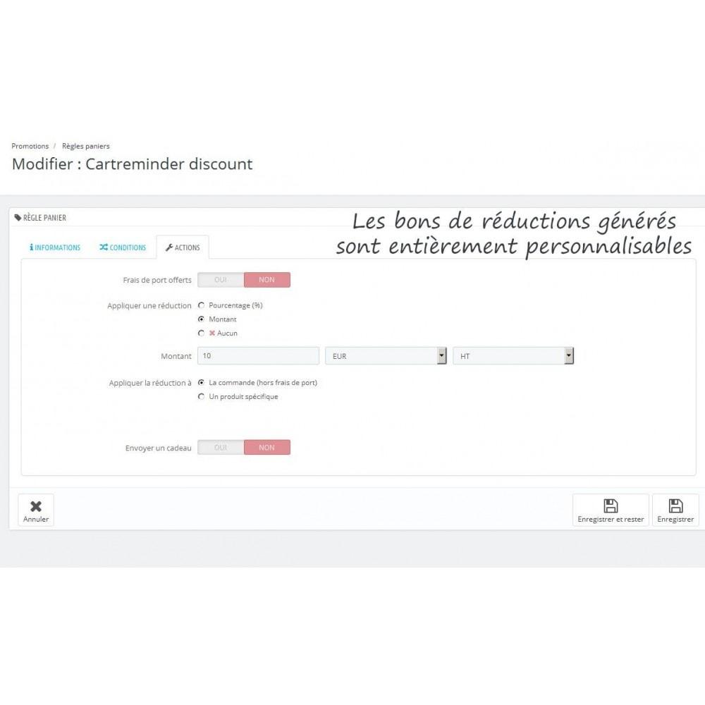 module - Remarketing & Paniers Abandonnés - Rappel de panier personnalisable - 7