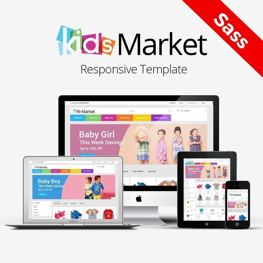 theme - Crianças & Brinquedos - KIDS MARKET - 1