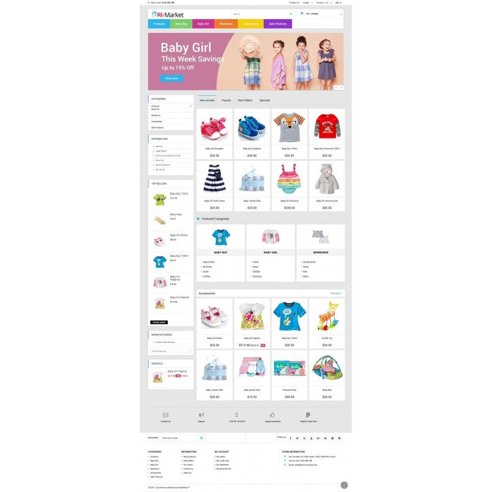 theme - Crianças & Brinquedos - KIDS MARKET - 3