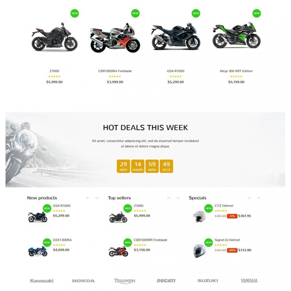 theme - Automotive & Cars - XO moto - 3