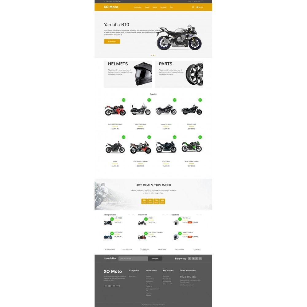 theme - Automotive & Cars - XO moto - 6