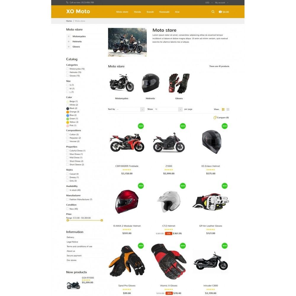 theme - Automotive & Cars - XO moto - 7