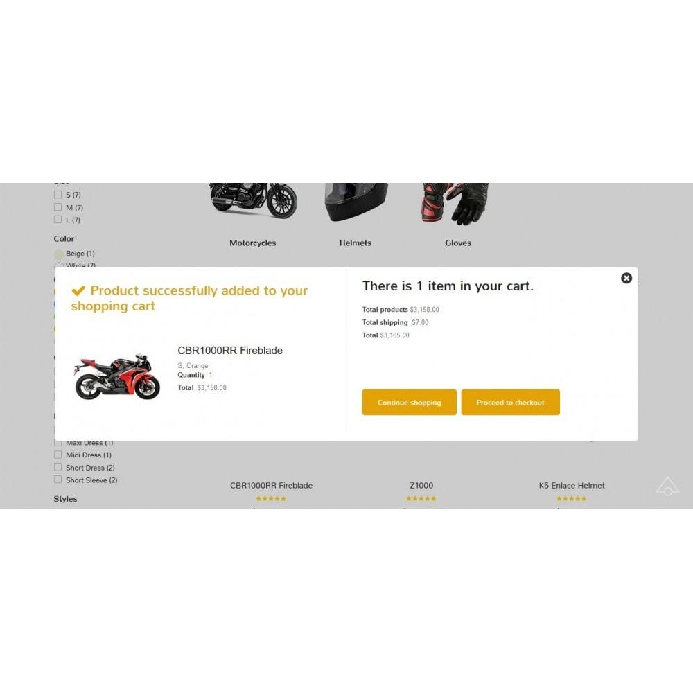 theme - Automotive & Cars - XO moto - 8
