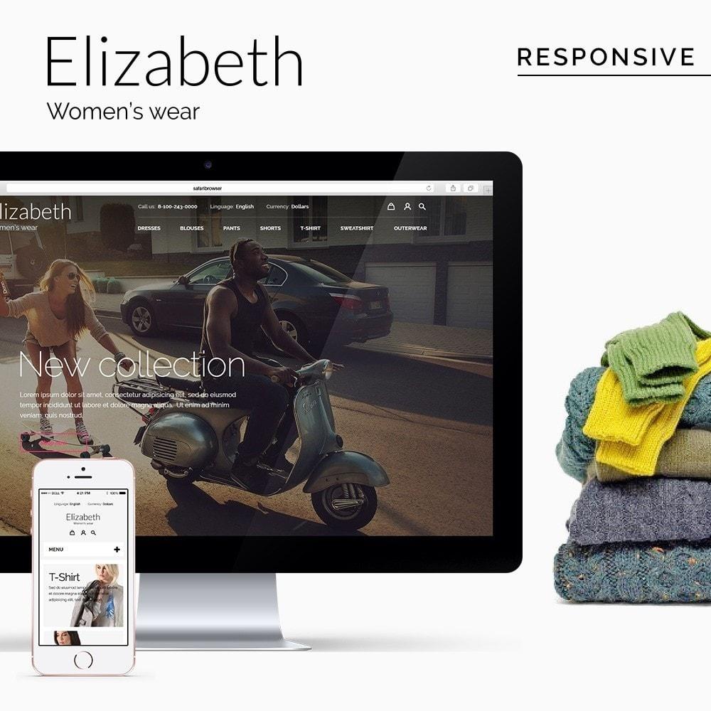 theme - Мода и обувь - Elizabeth Fashion Store - 1