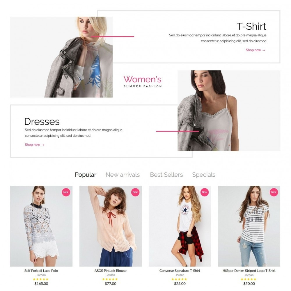 theme - Мода и обувь - Elizabeth Fashion Store - 4