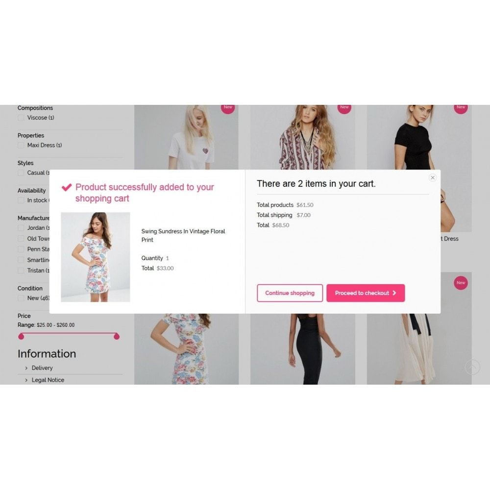 theme - Мода и обувь - Elizabeth Fashion Store - 6