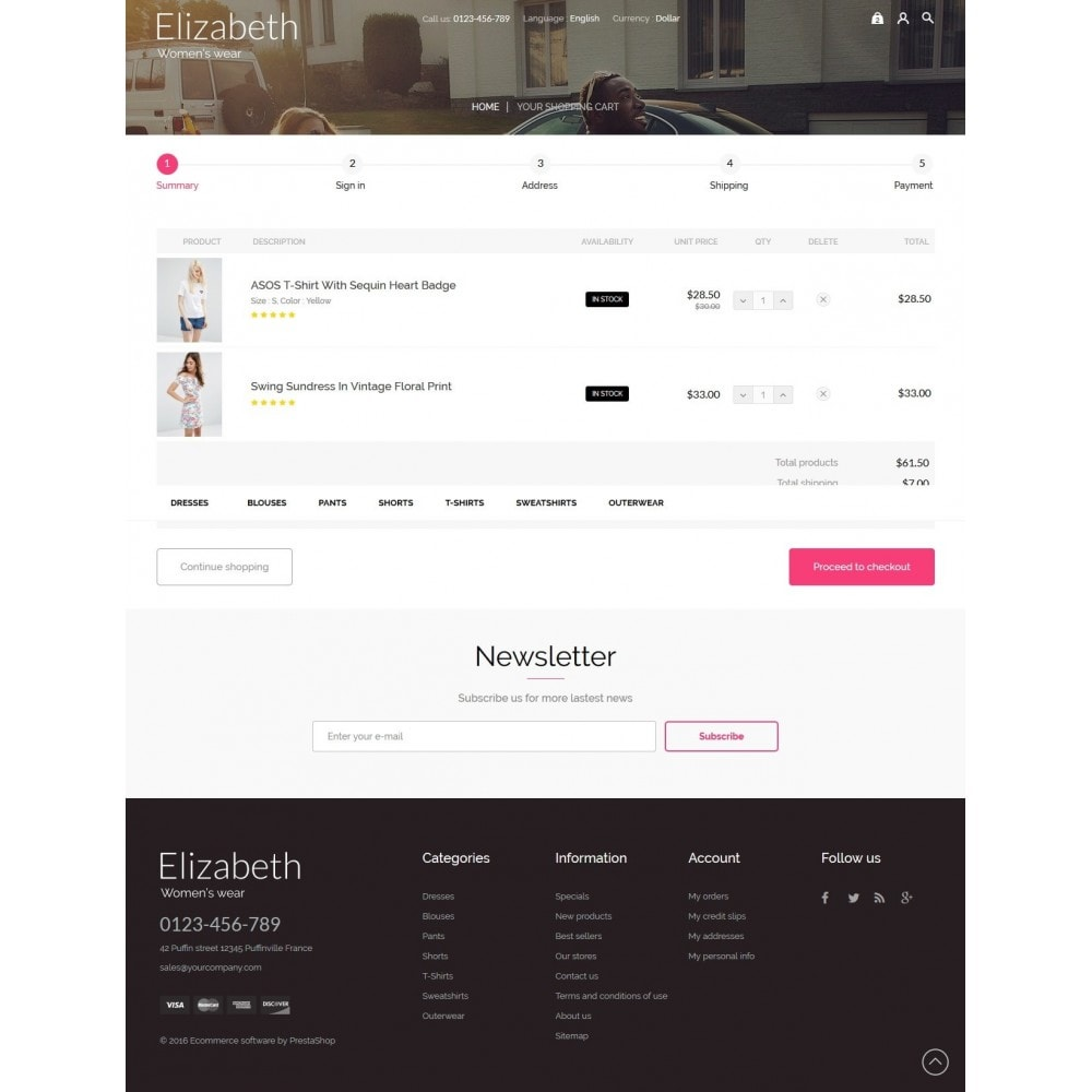 theme - Moda & Calzature - Elizabeth Fashion Store - 8