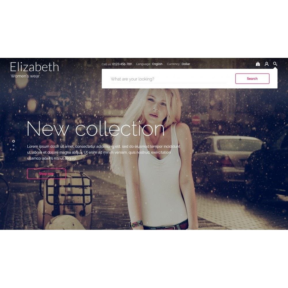 theme - Мода и обувь - Elizabeth Fashion Store - 9
