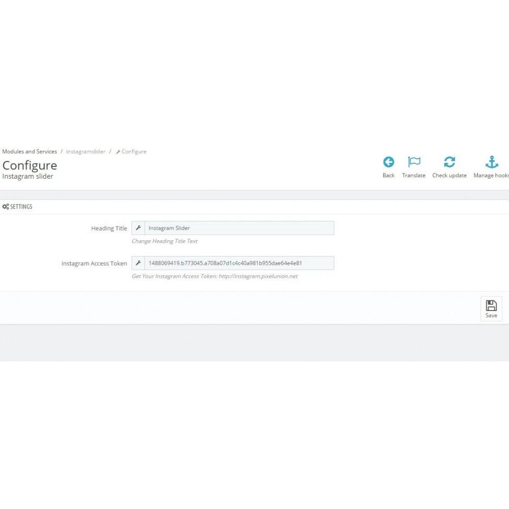 module - Social Widgets - Social Slider - 3