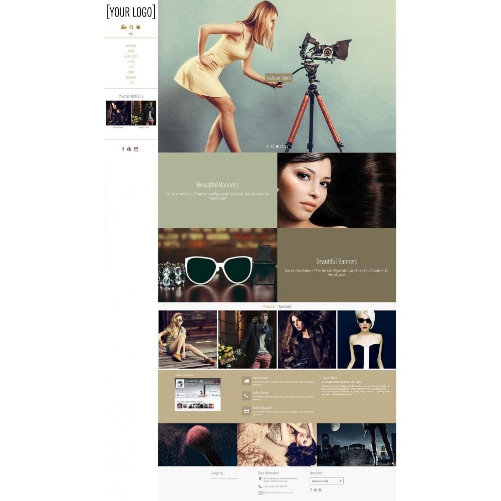 theme - Fashion & Shoes - Magnetic - Parallax Masonry Modern - 1