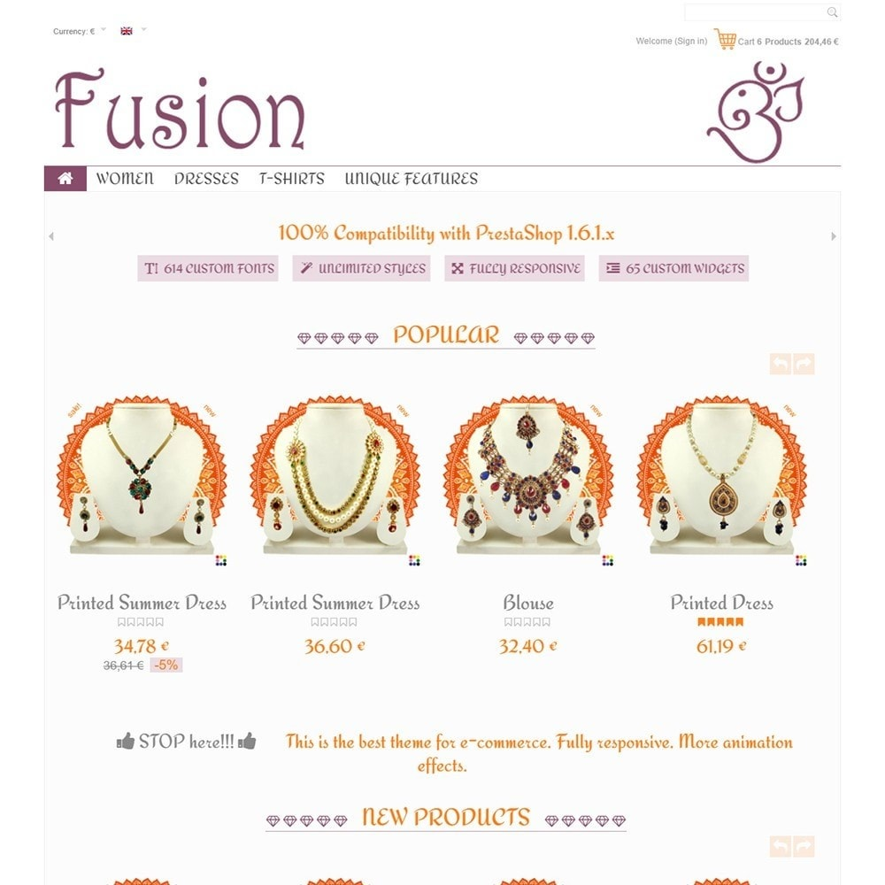 theme - Jewelry & Accessories - Fusion - 2