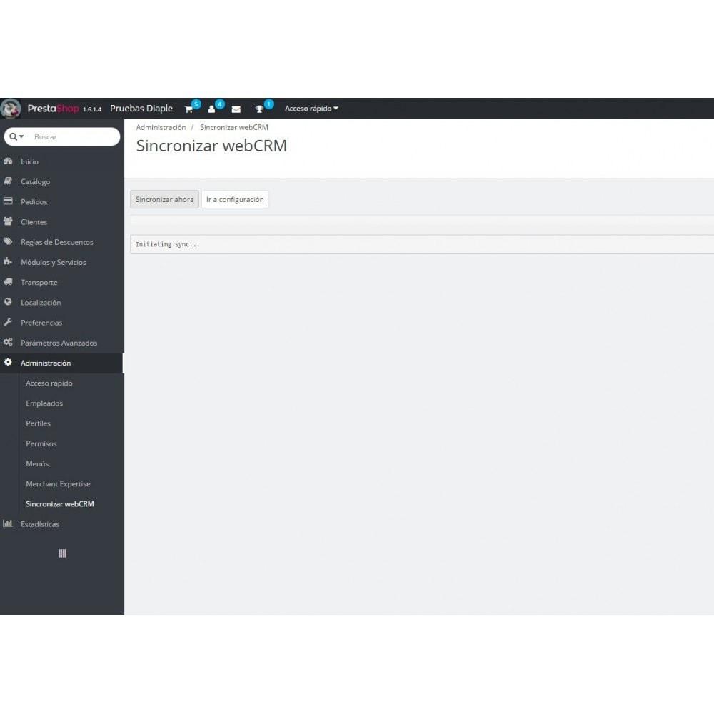 module - Integración con CRM, ERP... - webCRM - 2