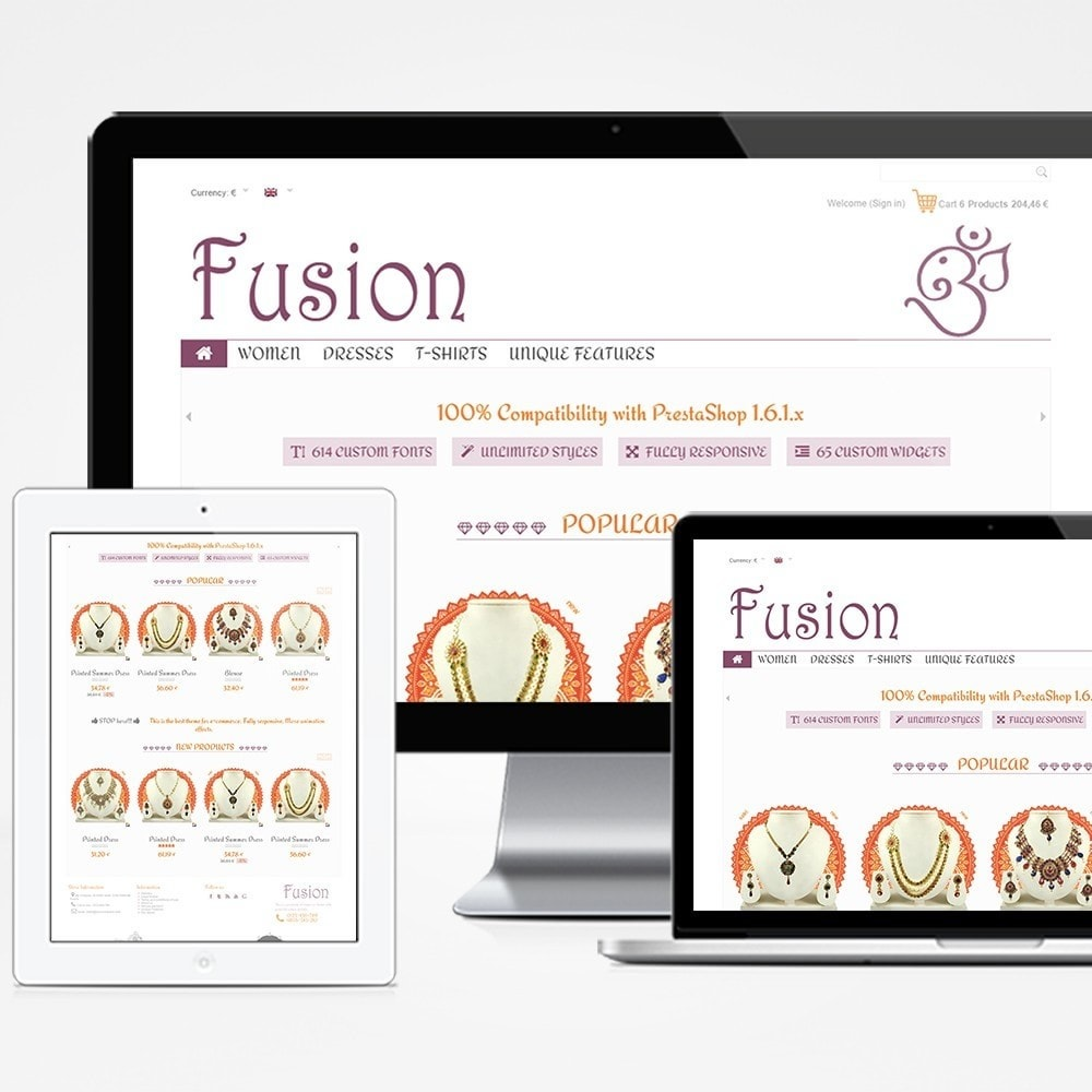 theme - Jewelry & Accessories - Fusion - 1