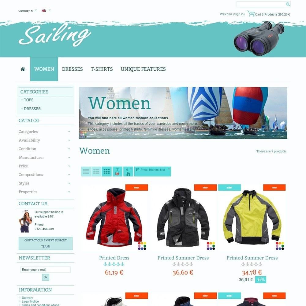 theme - Sports, Activities & Travel - Sailing - 3