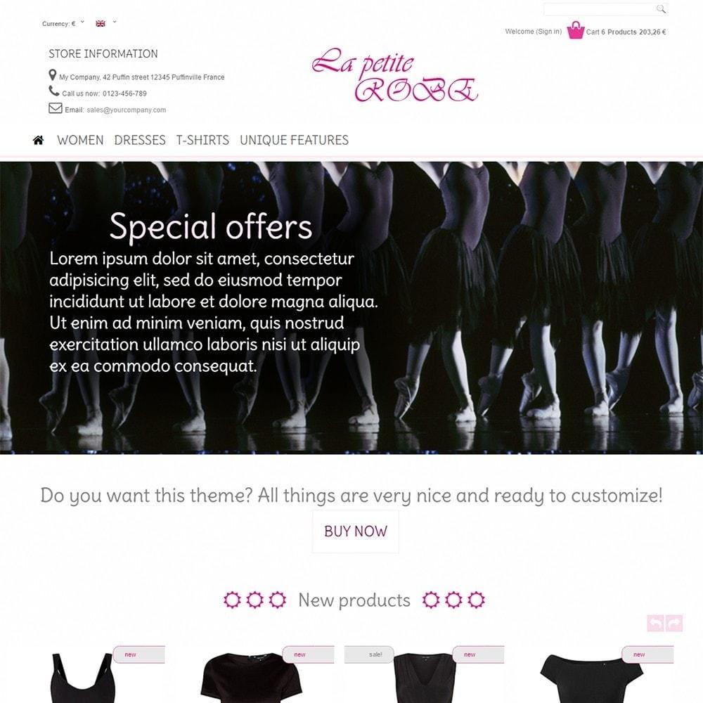 theme - Moda y Calzado - La Petite Robe - 2