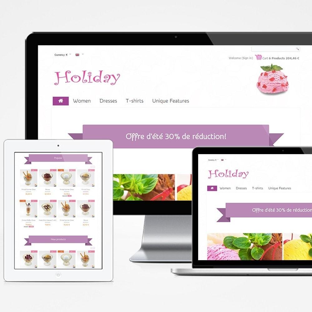 theme - Żywność & Restauracje - Holiday - 1