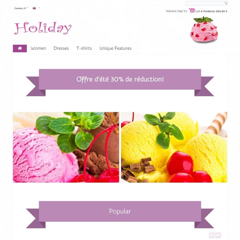 theme - Żywność & Restauracje - Holiday - 2