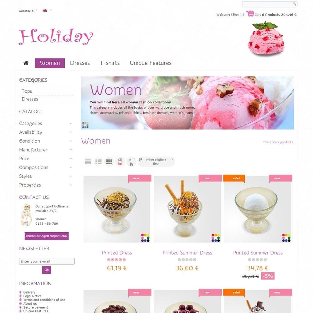 theme - Żywność & Restauracje - Holiday - 3
