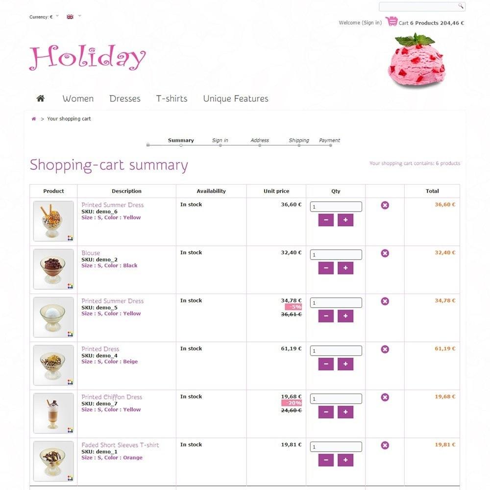 theme - Żywność & Restauracje - Holiday - 5