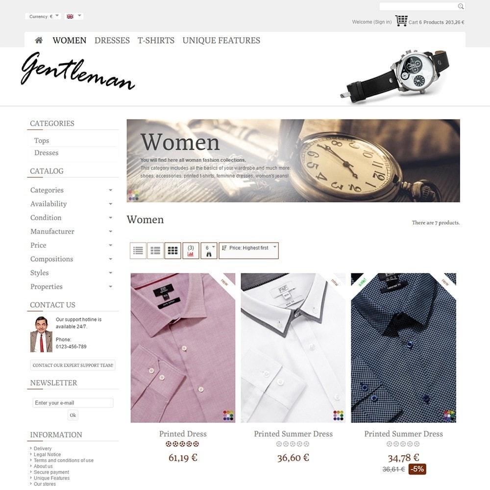 theme - Moda y Calzado - Gentleman - 3