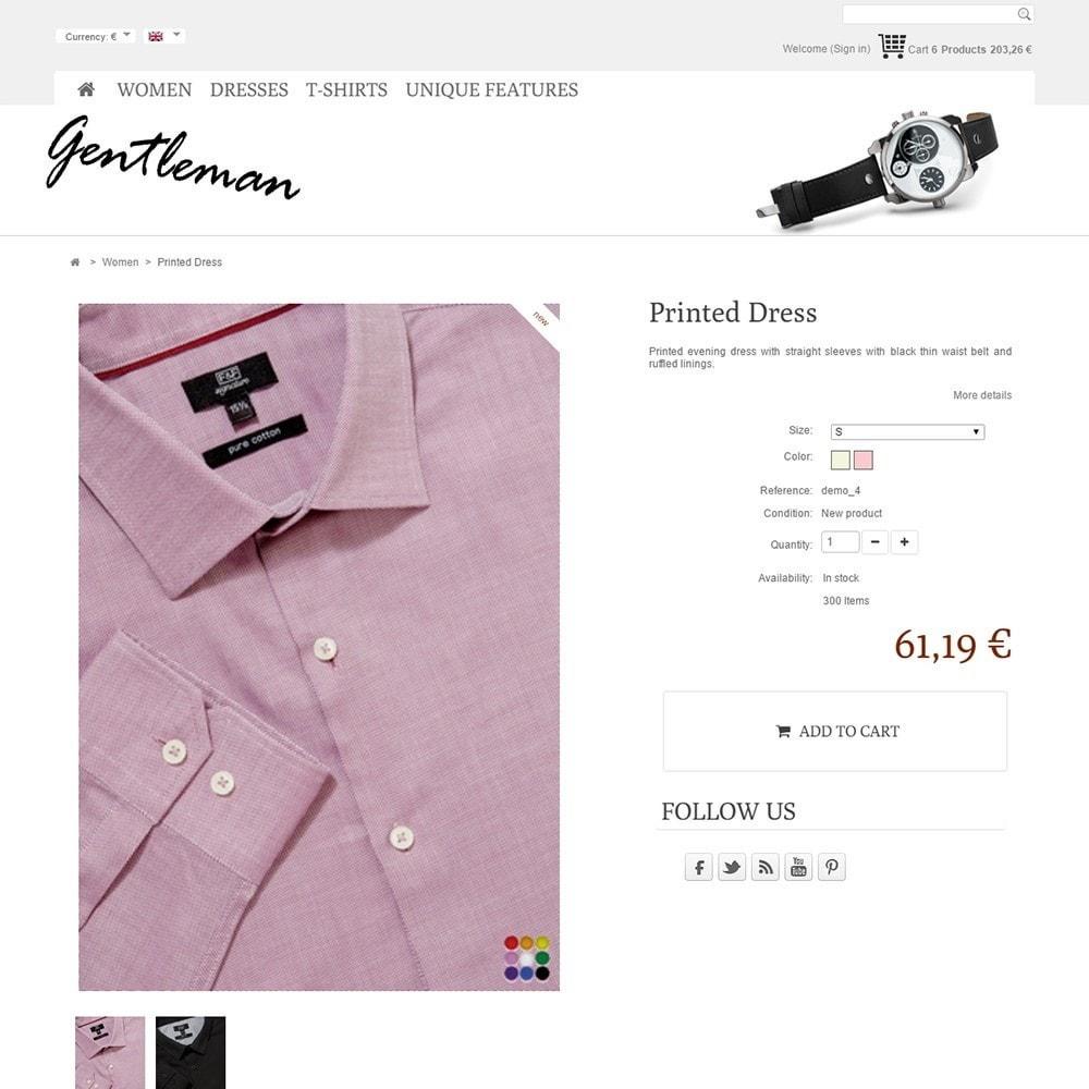 theme - Moda y Calzado - Gentleman - 4