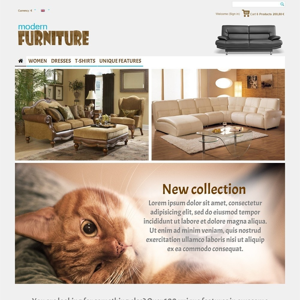 theme - Дом и сад - Modern Furniture - 2