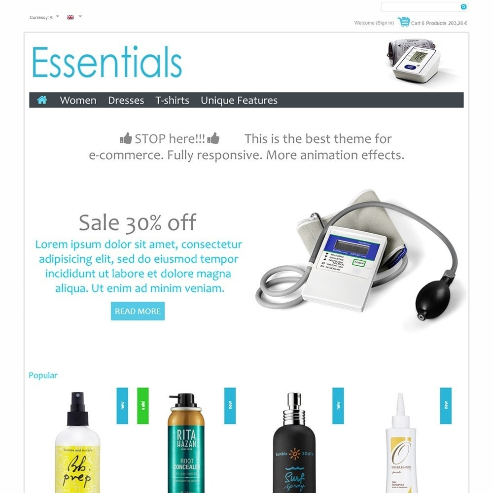 theme - Saúde & Beleza - Essentials - 2