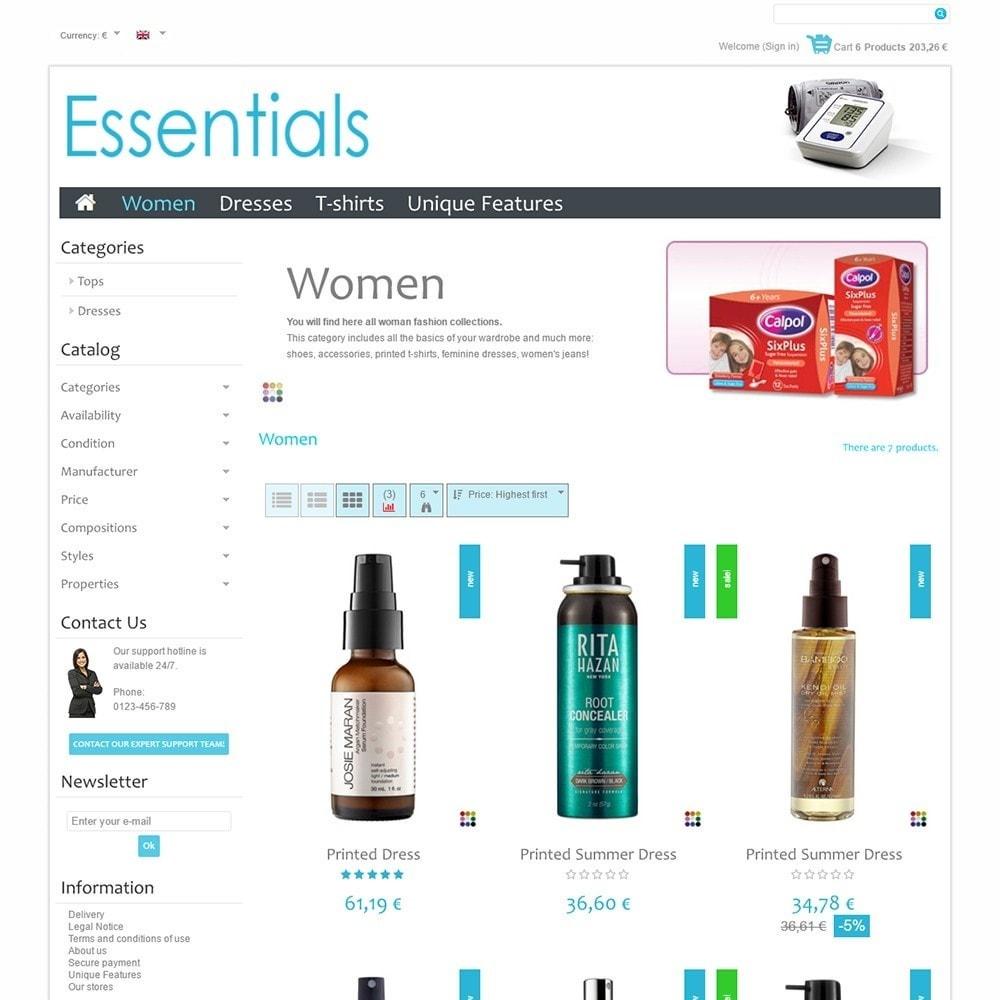 theme - Saúde & Beleza - Essentials - 3
