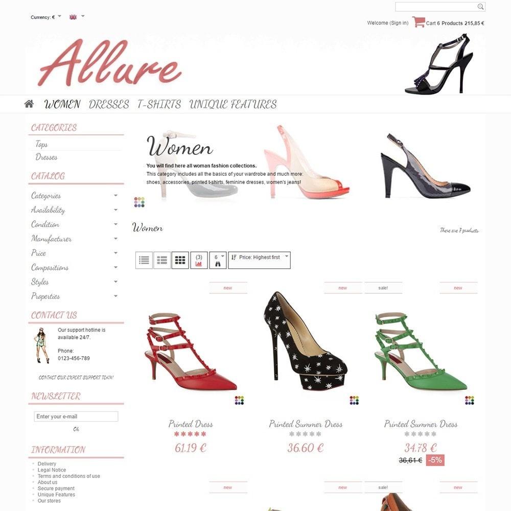 theme - Moda y Calzado - Allure - 3