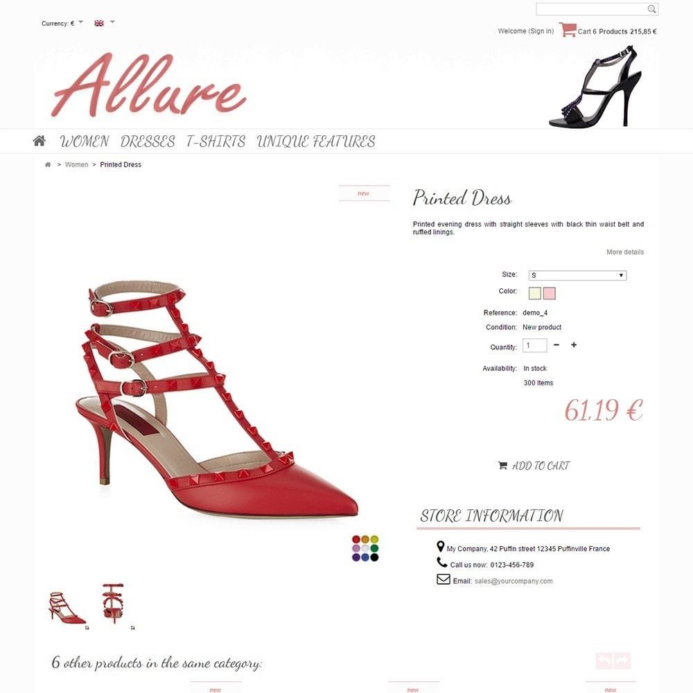 theme - Moda y Calzado - Allure - 4