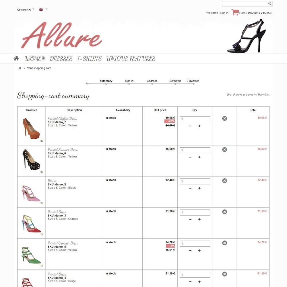 theme - Moda y Calzado - Allure - 5