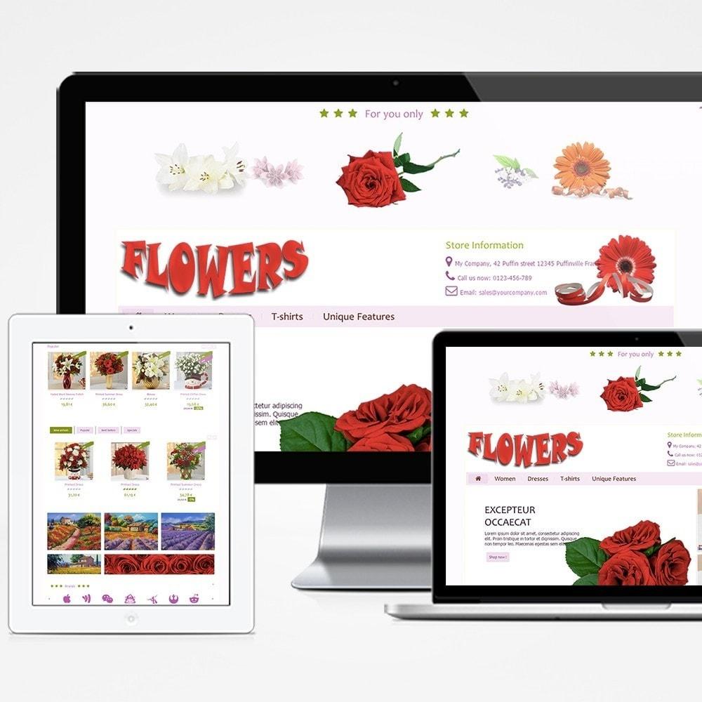 theme - Geschenke, Blumen & Feiern - Flowers - 1