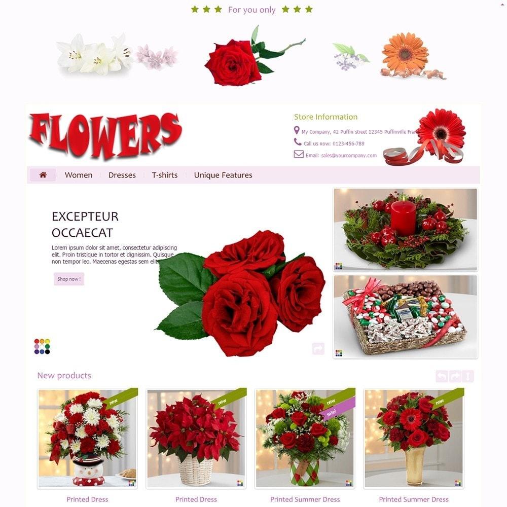 theme - Geschenke, Blumen & Feiern - Flowers - 2