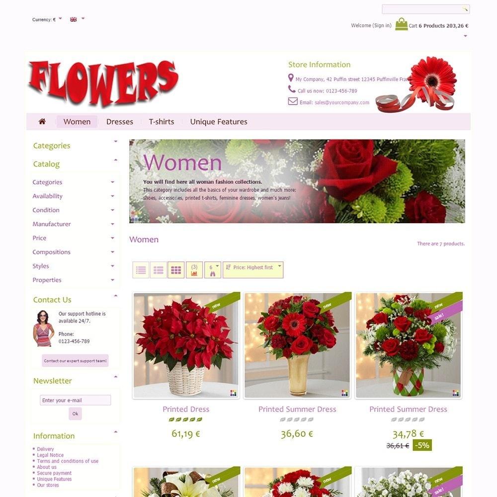 theme - Geschenke, Blumen & Feiern - Flowers - 3