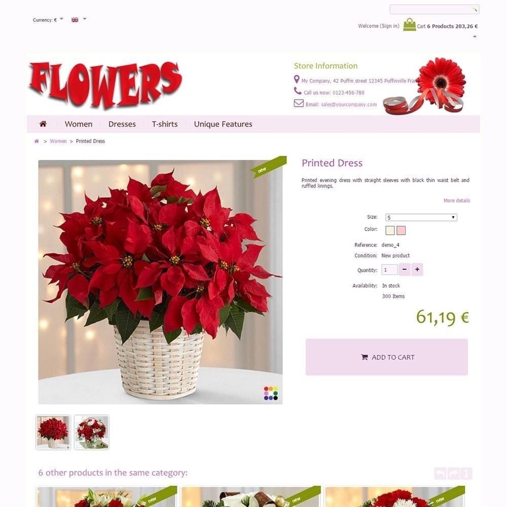 theme - Geschenke, Blumen & Feiern - Flowers - 4