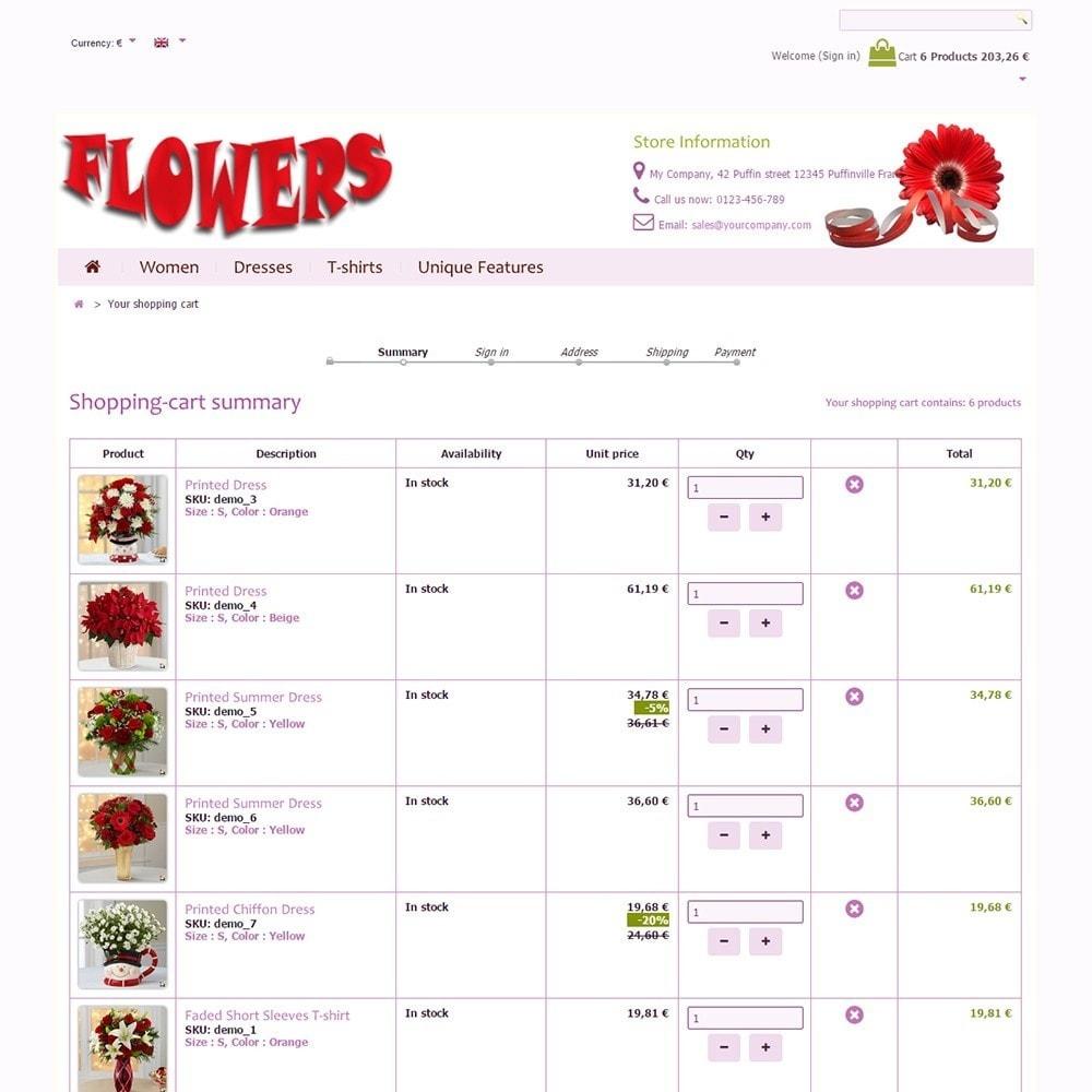theme - Geschenke, Blumen & Feiern - Flowers - 5