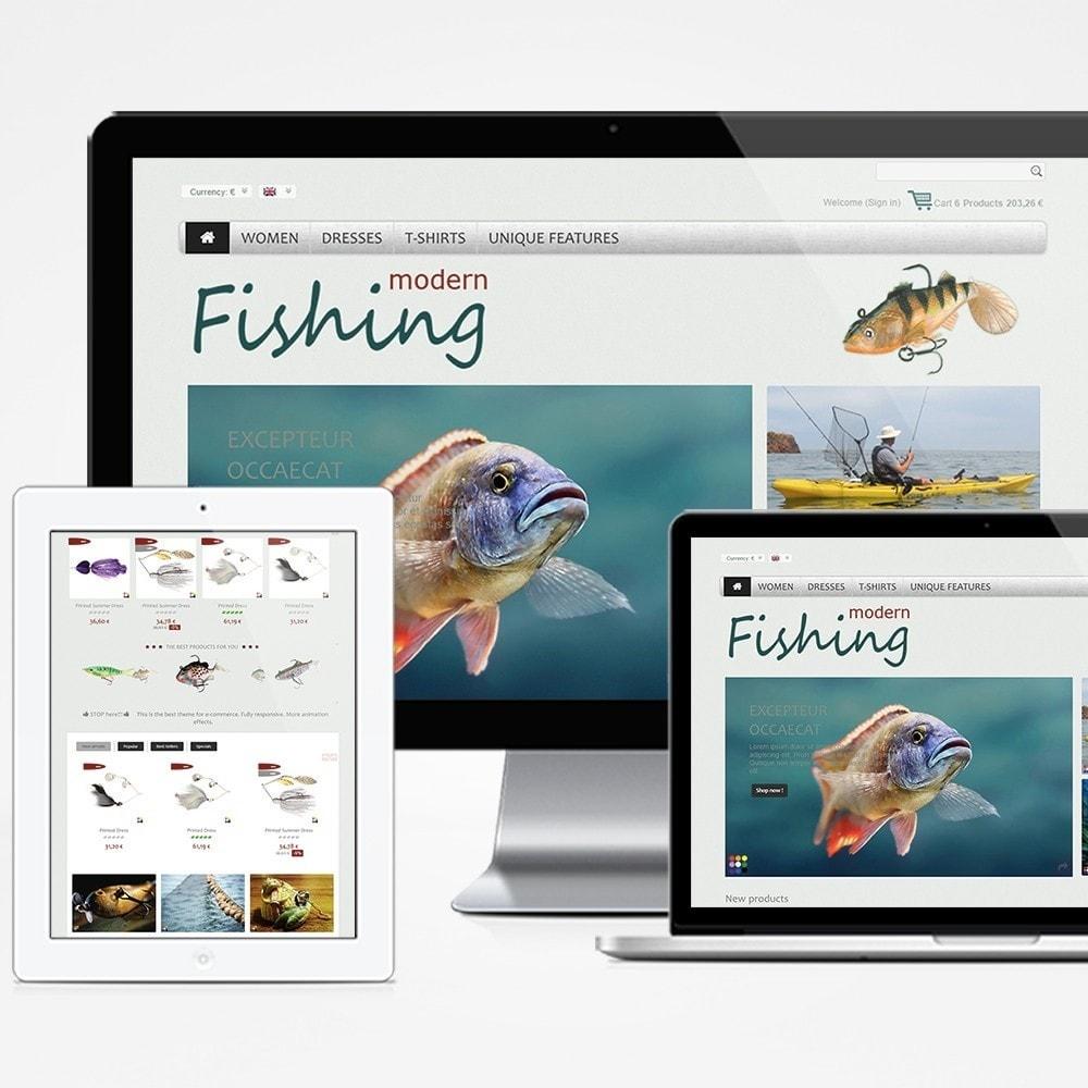 theme - Спорт и Путешествия - Modern Fishing - 1
