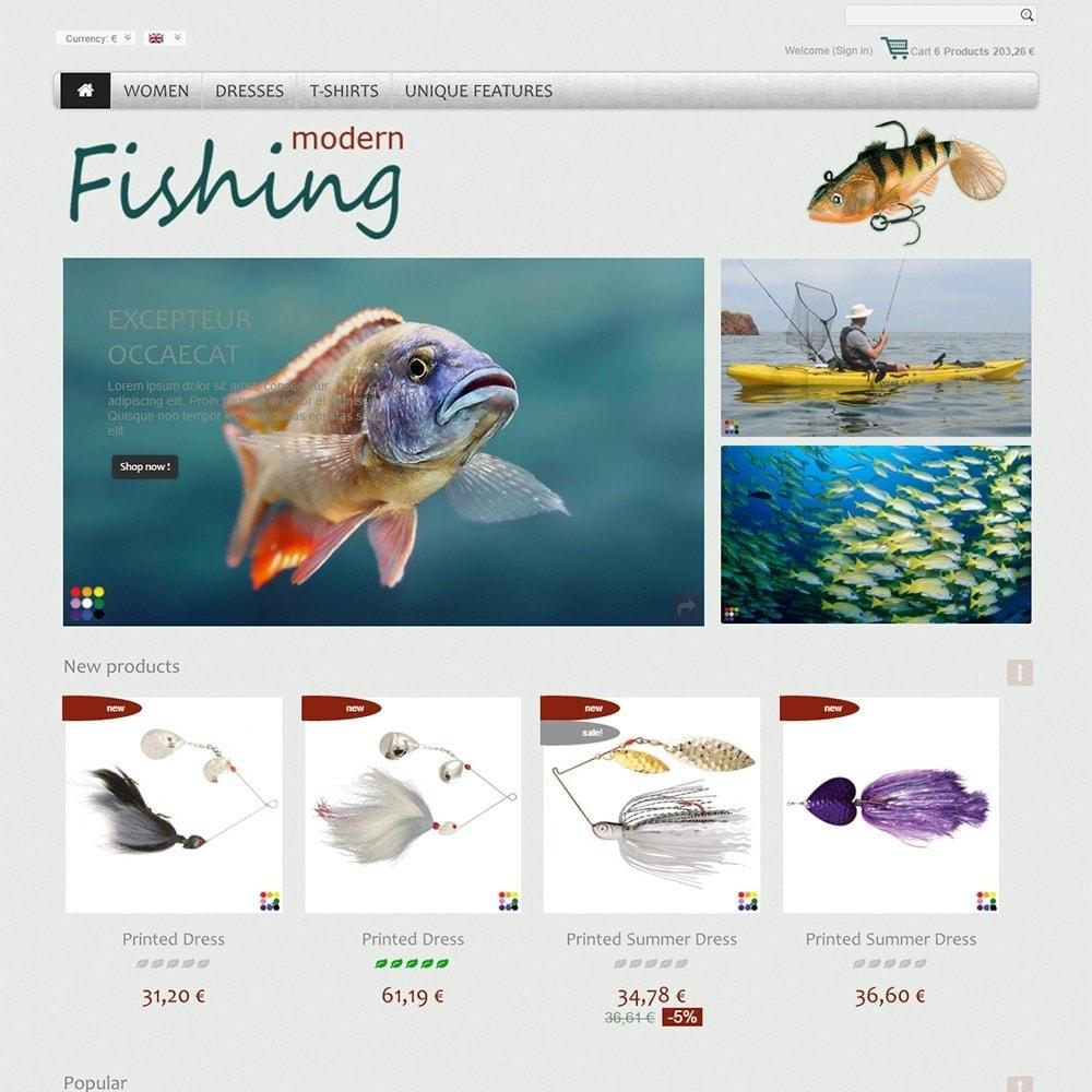theme - Спорт и Путешествия - Modern Fishing - 2