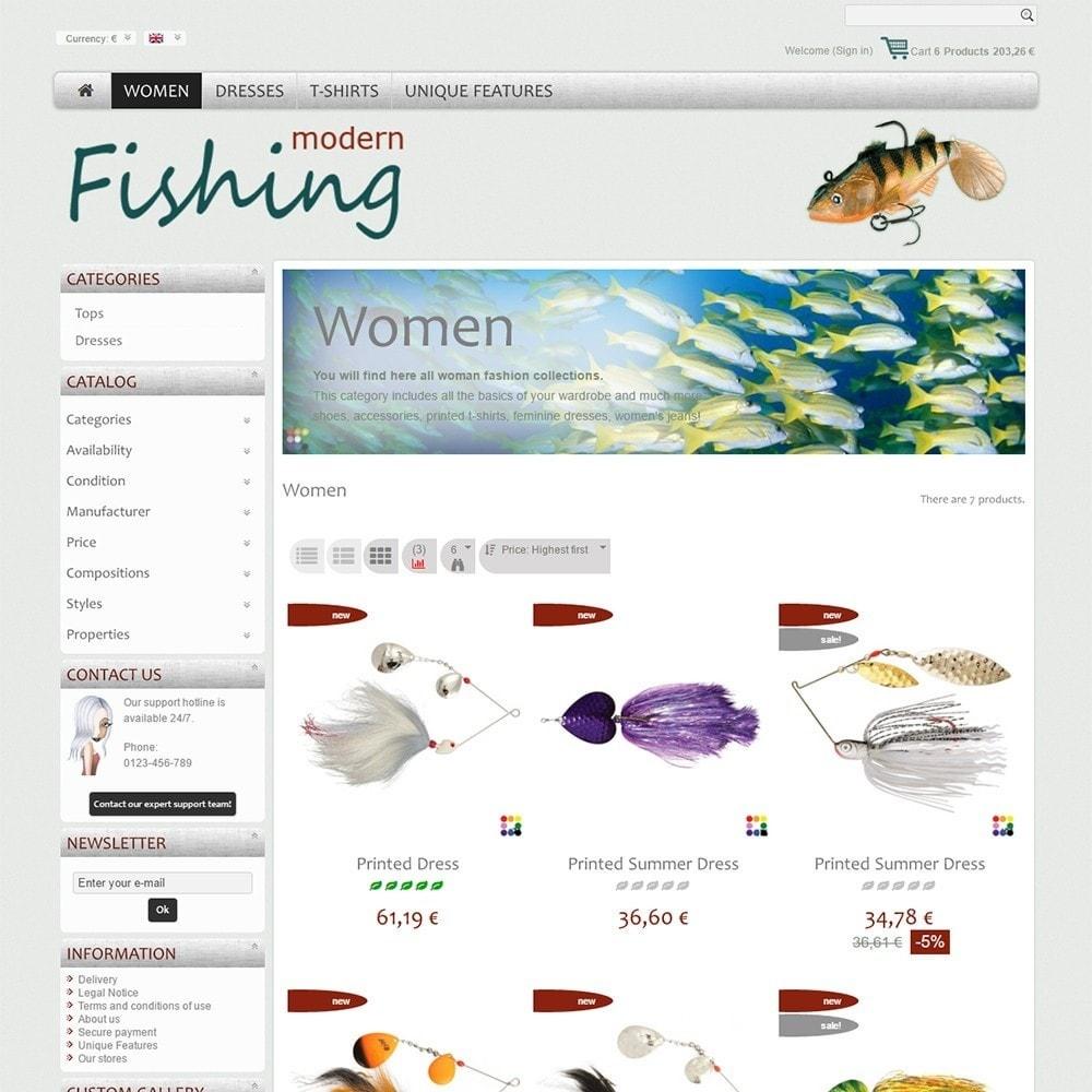 theme - Спорт и Путешествия - Modern Fishing - 3